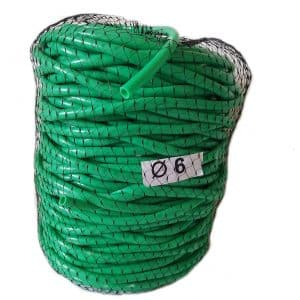 Tub de vinil Ø 6 mm 1kg = 80 m pentru legat plante