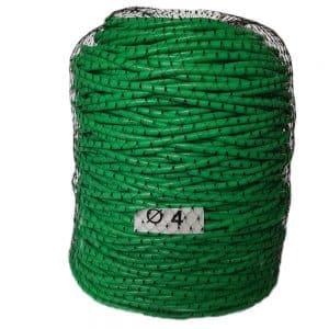 Tub vinil Ø 4 mm 1kg = 130 m pentru legat plante